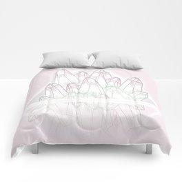 Crystals - Pink Comforters