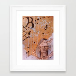 Till The Bandages Come Off Framed Art Print