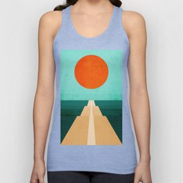 The Road Less Traveled Unisex Tank Top