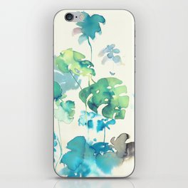 Tropical Leaves Collab. Dylan Silva iPhone Skin