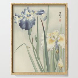 Irises - Ohara Koson (1900 - 1936) Serving Tray