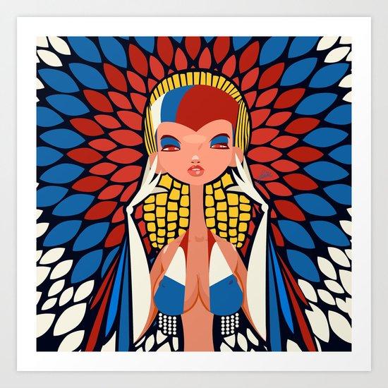 FIFA 2014 Samba Girls Series: Russia Art Print