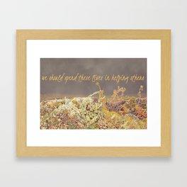 Ephesians 2 10 Framed Art Print