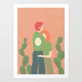 amori e spine Art Print
