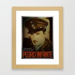 Pedro Infante Framed Art Print