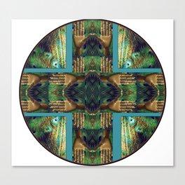 Beautiful Hands Mandala Canvas Print