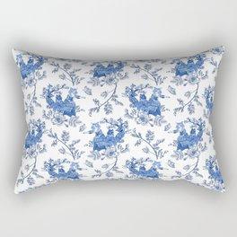 Kittyland Toile Rectangular Pillow
