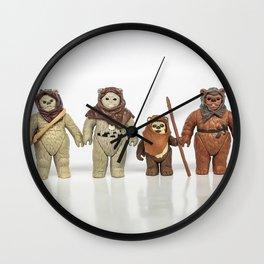 Ewoks Wall Clock