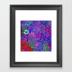 Electric Garden Framed Art Print