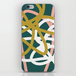 Abstract Lines 02B iPhone Skin