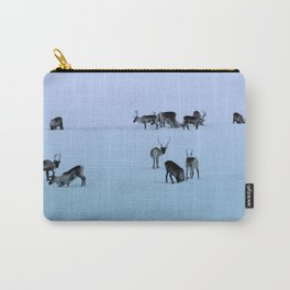Reindeers Carry-All Pouch