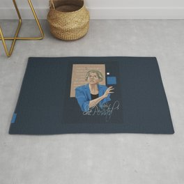 """Nevertheless, She Persisted"" Rug"