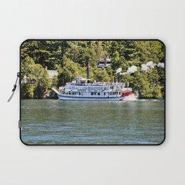 Minne-Ha-Ha Steamboat on Lake George Laptop Sleeve