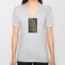 Marcel Duchamp - Nude Descending a Staircase, No. 2 Unisex V-Neck