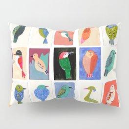Colorful birds Pillow Sham