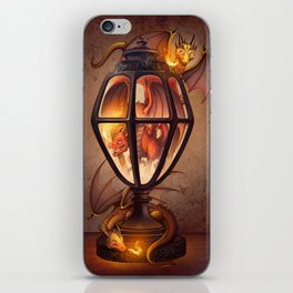 The Dragon Lantern iPhone Skin