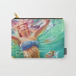 My home is the ocean Carry-All Pouch