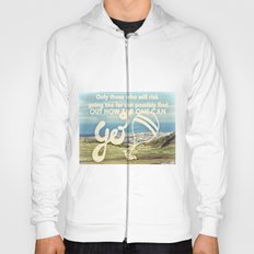 Adventure Quote, hot air balloon Hoody