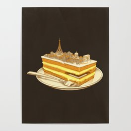 Hungry for Travels: Slice of Paris Poster