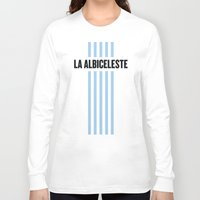 argentina Long Sleeve T-shirts featuring Argentina by Skiller Moves