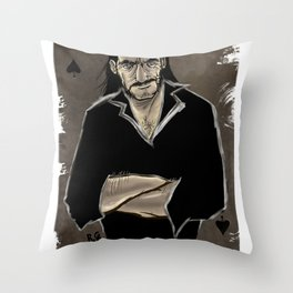 The Real Ace of Spades Throw Pillow