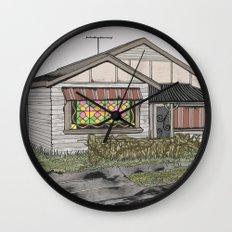 House 02 Wall Clock