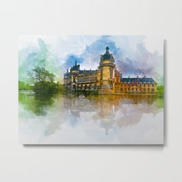 Château de Chantilly Metal Print