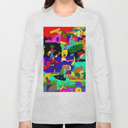 The abducted bird Long Sleeve T-shirt
