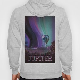 NASA Retro Space Travel Poster #7 Juniper Hoody