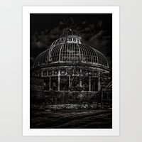 Allan Gardens Conservatory Palm House Toronto Canada Art Print