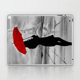 The Red Umbrella Laptop & iPad Skin
