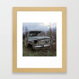 Seat 600, 2012 Framed Art Print