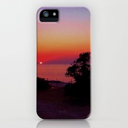San Antonio Sunset iPhone Case