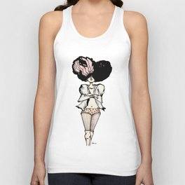 vogue girl I Unisex Tank Top