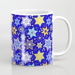 Embellished Stars of David Coffee Mug