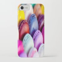 macaroons iPhone & iPod Cases featuring Macaroons by rosita