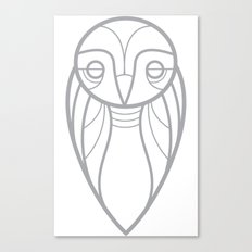 owl tshirt Canvas Print