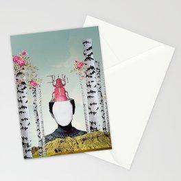VIAJERA ESPACIAL // JUNO  Stationery Cards