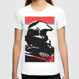 """Racing Helmet Design"" - Classic Cars Lovers T-shirt"