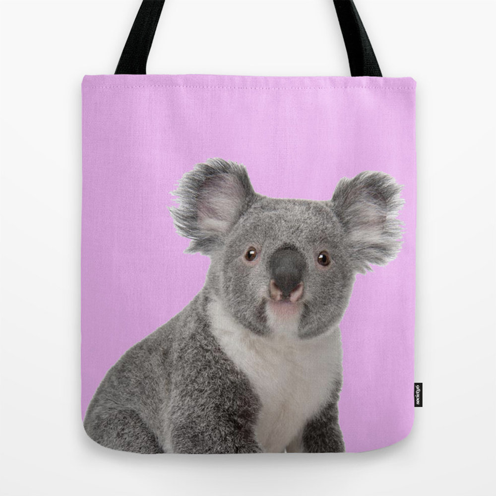Pretty Cute Koala Tote Purse by Lovedesign07 (TBG9974190) photo