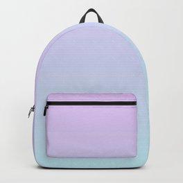 Pastel Ultra Violet Mint Gradient Backpack