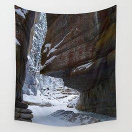 Maligne Canyon Icewalk Wall Tapestry