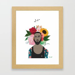 #30DayChallenge: Day 1 Framed Art Print