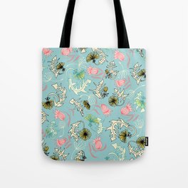 dandelion's wind Tote Bag
