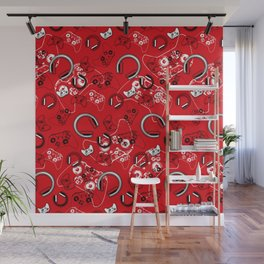 Gamers-Red Wall Mural