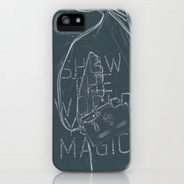 Show The World Your Magic - I iPhone Case