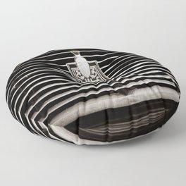 Car Grill Floor Pillow