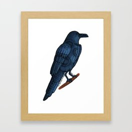 Wing It Framed Art Print
