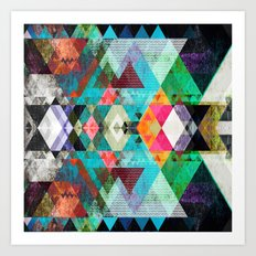 Graphic 115 Art Print