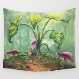 Fairy Tears Wall Tapestry